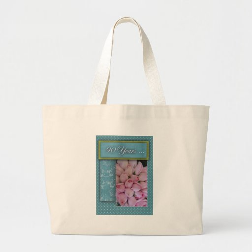 90 years and counting ... tote bag