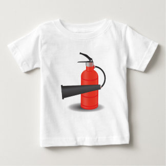 90Fire Extinguisher_rasterized Baby T-Shirt