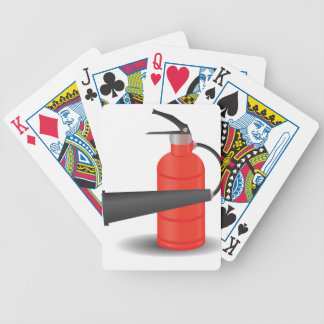 90Fire Extinguisher_rasterized Bicycle Playing Cards