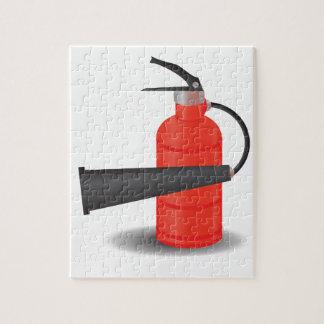 90Fire Extinguisher_rasterized Jigsaw Puzzle