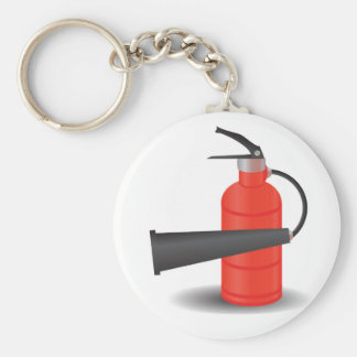 90Fire Extinguisher_rasterized Key Ring
