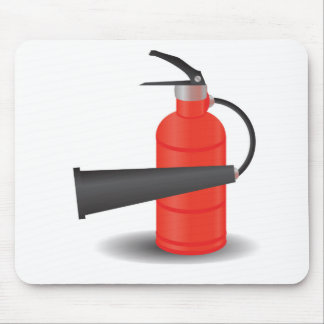 90Fire Extinguisher_rasterized Mouse Pad