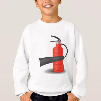 90Fire Extinguisher_rasterized Sweatshirt