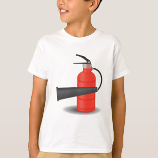 90Fire Extinguisher_rasterized T-Shirt