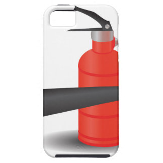 90Fire Extinguisher_rasterized Tough iPhone 5 Case