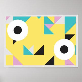90's eye poster