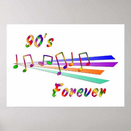 90's Forever Print
