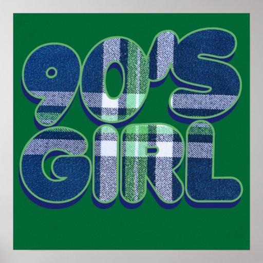 90s girl poster