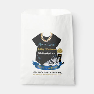 90's Hip Hop Prince Baby Shower Party Favor Bags