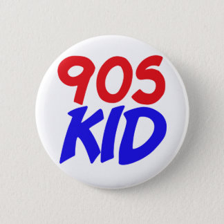 90s Kid 6 Cm Round Badge