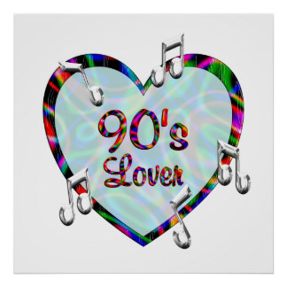 90s Lover Posters