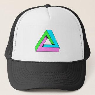 90s pop art design trucker hat