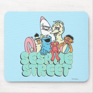 90's Sesame Street Vintage Surf Mouse Pad