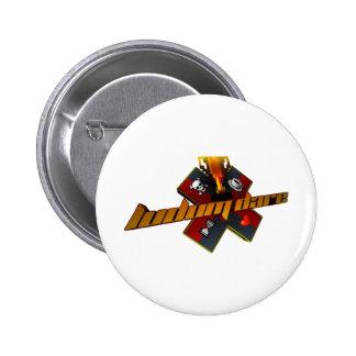 90's Style 6 Cm Round Badge