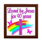 90TH BIRTHDAY BLESSINGS GIFT BOX