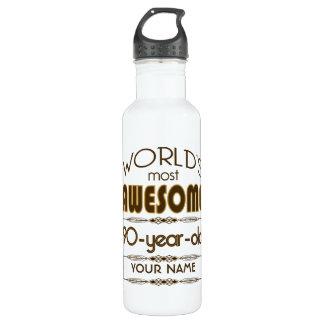 90th Birthday Celebration World Best Fabulous 710 Ml Water Bottle