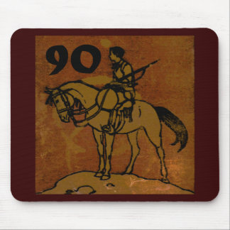 90th Birthday Mouse Pad