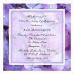 90th Birthday Party Invitation - Hydrangeas