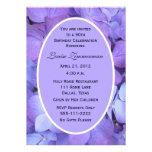 90th Birthday Party Invitation -- Hydrangeas