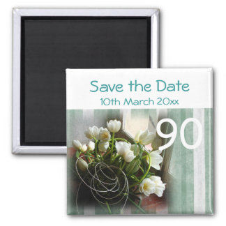 90th birthday party Save the Date Magnet