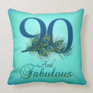90th Birthday Pillows Cushions
