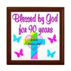 90TH BIRTHDAY PRAYER GIFT BOX