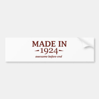 90TH year old gifts Bumper Sticker