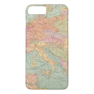 910 Lines of Communication, Central Europe iPhone 7 Plus Case