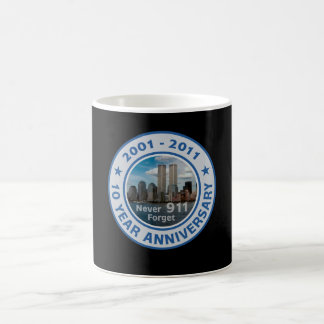 911 10 Year Anniversary Coffee Mug