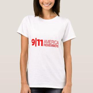 911 America Remembers T-Shirt