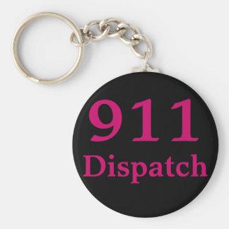911 Dispatch Centre Key Ring