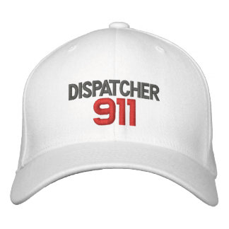 911, Dispatcher Embroidered Hat