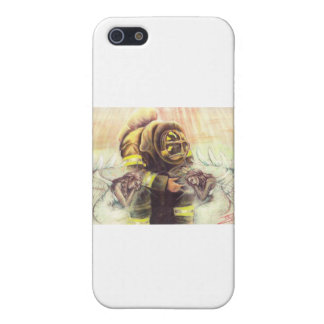 911 Fireman Angels Case For The iPhone 5