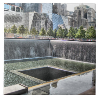 911 Ground Zero Memorial Ceramic Tile