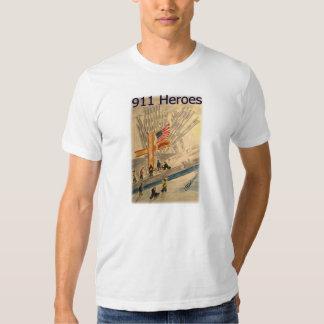 911 Heroes New York City American Made T- Shirt