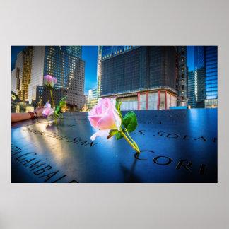 911 Memorial NYC Poster