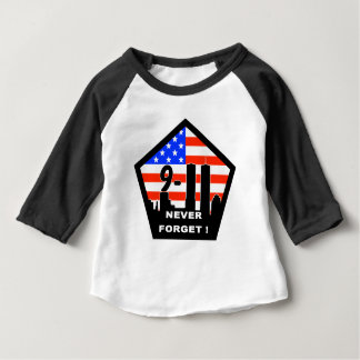 911 never forget baby T-Shirt