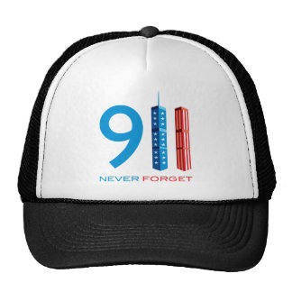 911 Never Forget Hat