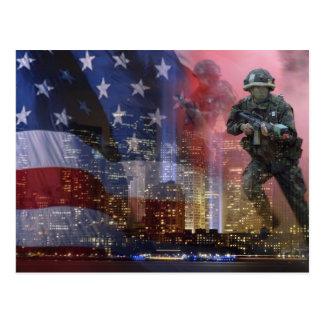 911 Twin Towers Postcard