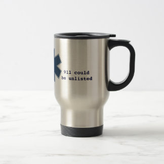 911 unlisted travel mug