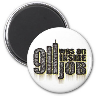 911 Was an Inside Job Refrigerator Magnets
