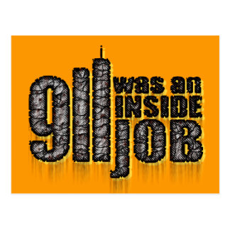 911 Was an Inside Job Postcard