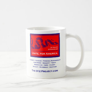 912  Project Unite for America Coffee Mug