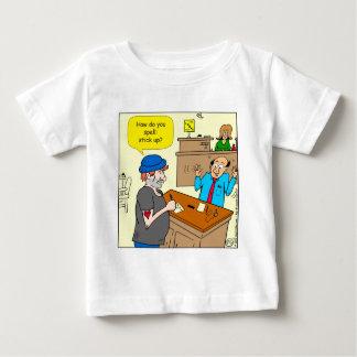 916 stick up at the bank cartoon baby T-Shirt