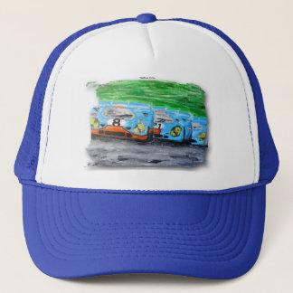 917!!!  Artwork Jean Louis Glineur Trucker Hat