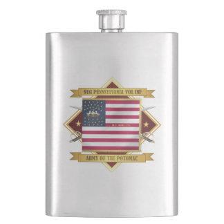 91 PA Infantry Hip Flask