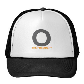 91.PRESIDENT-OBAMA TRUCKER HAT