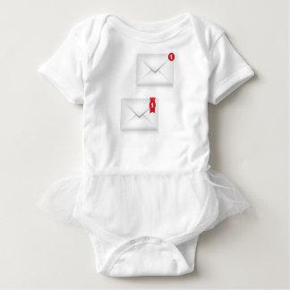 91Mailbox Alert Icon_rasterized Baby Bodysuit