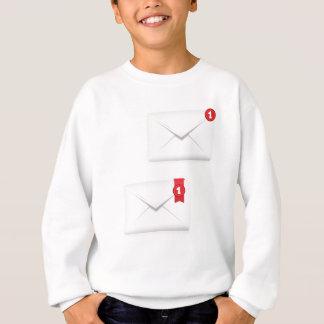 91Mailbox Alert Icon_rasterized Sweatshirt