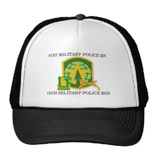 91ST MILITARY POLICE BATTALION HAT